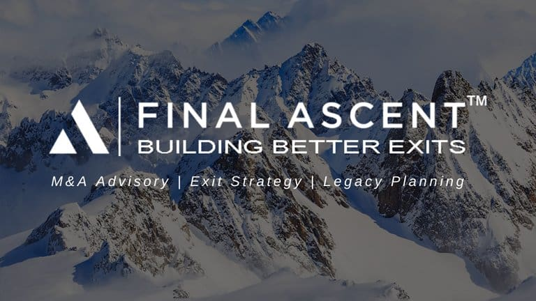sell a business with final ascent - who we are
